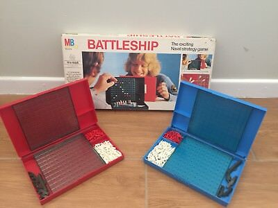 Battleship: The Exciting Naval Strategy Game - MB John Sands 1975 Vintage Game