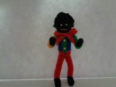 Black Doll Miniature
