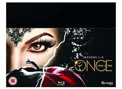 Once Upon A Time Complete Series Seasons 1, 2, 3, 4, 5 & 6 Blu ray Box Set RB