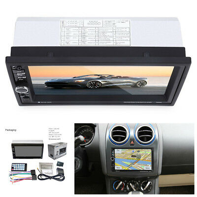 "2Din 7"" HD Touch Screen Car Audio Stereo FM GPS Bluetooth USB/TF/AUX MP5 Player"
