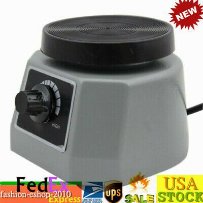 "Dental Lab VIBRATOR Oscillator Shaker Round 4"" Platform Round Variable Speed"