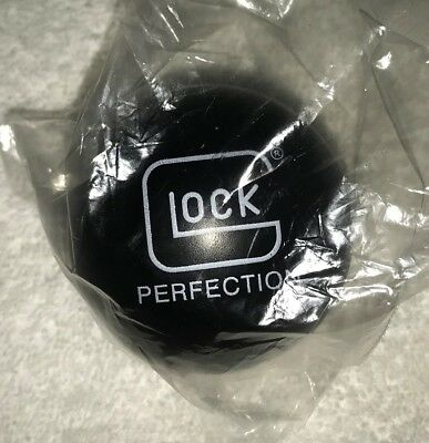 GLOCK Perfection black foam stress ball squeeze promotion new in package