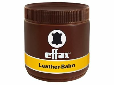 Effax Leather Balm / Tack Cleaner/Conditioner - 500ml - BN