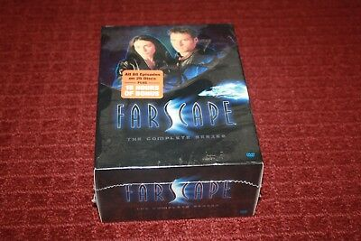 Farscape: The Complete Series (DVD, 2009, 26-Disc Set) *Brand New Sealed*