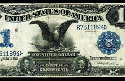Fr 228. $1 1899 ::: BLACK EAGLE ::: Silver Certificate ** MORE CURRENCY FOR SALE