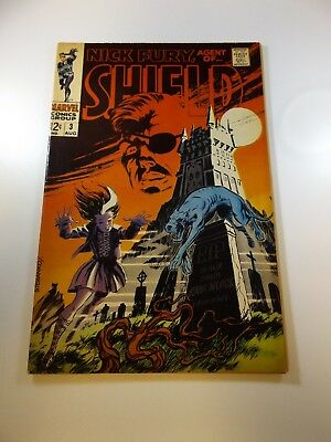 Nick Fury Agent of SHIELD #3 VG condition Huge auction going on now!