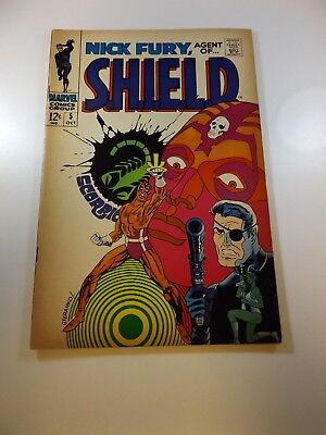 Nick Fury Agent of SHIELD #5 VG condition Huge auction going on now!