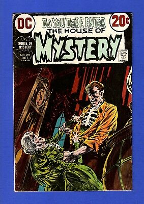 House Of Mystery #207 Fn- Bronze Age Dc Horror Comics Bernie Wrightson Cover