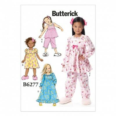 FREE UK P&P - Butterick Girls Easy Sewing Pattern 6277 Top, Pants ...
