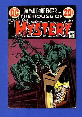 House Of Mystery #213 Fn Bronze Age Dc Horror Comics Bernie Wrightson Cover