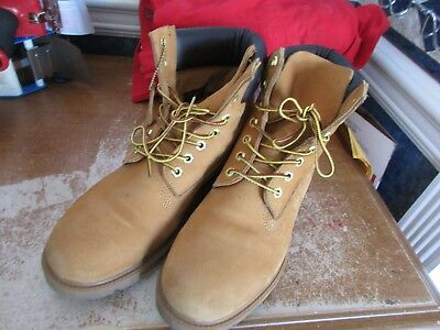 TIMBERLAND NEWMARKET CAMPSITE Wheat Men's Boots 6409R Size