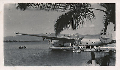 late 1930s-40s  airplane Hawaii Photo #1 Pan Am Clipper