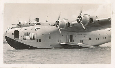 late 1930s-40s  airplane Hawaii Photo #4 Pan Am Clipper aircraft