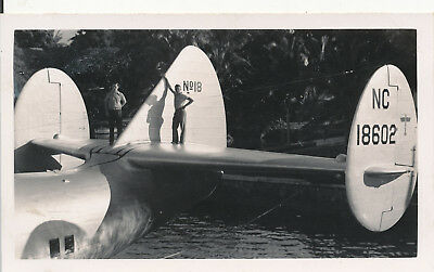 late 1930s-40s  airplane Hawaii Photo #5 Pan Am Clipper aircraft