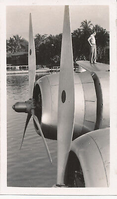 late 1930s-40s  airplane Hawaii Photo #7 Pan Am Clipper aircraft