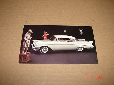 "1957 Chevrolet ""TwoTen"" Sport Coupe, Dealer Postcard, Post Card"