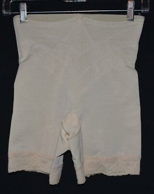Vintage Young Smoothie Panty Girdle w Metal Garters - M