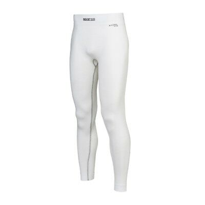 Sparco Shield RW-9 Fire-Resistant Underpants, White, Size XS/S