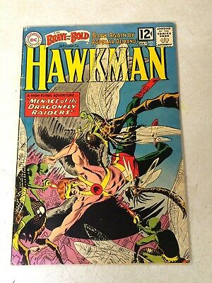 Brave And The Bold #42 Early Hawkman, Byth, Dragonfly Raiders, 1962