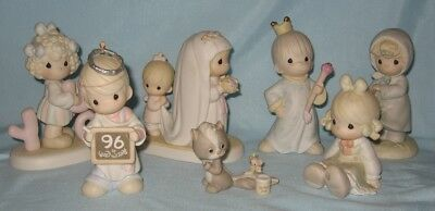 Precious Moments Figurines Lot of 7