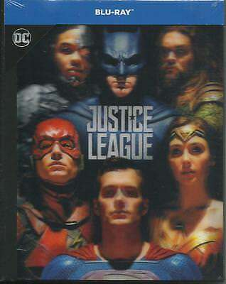 Justice League (2017) s.e. Blu Ray digibook cover lenticolare