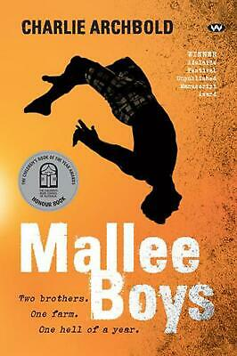 Mallee Boys by Charlie Archbold Paperback Book Free Shipping!