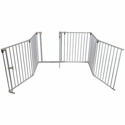 iSafe Metal 3in1 Fire Guard Room Divider Safety Gate Playpen