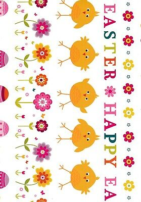 Quality easter wrapping paper or gift bag gift wrap choice of happy easter gift wrap wrapping paper tags daffodils chicks eggs free p negle Image collections