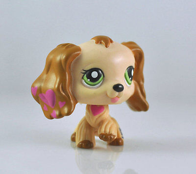 Pet Spaniel Dog Collection Child Girl Boy Figure Littlest Toy Loose LPS982