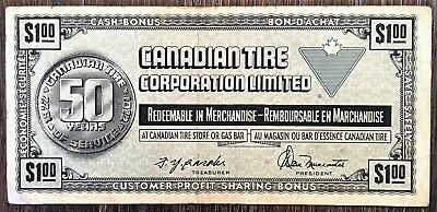 CTC S3-F 1972 Canadian Tire $1 One Dollar Note - Free Combined S/H