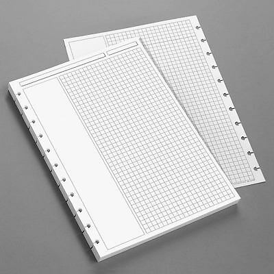 Levenger Special Request Circa Annotation Grid Refills- A4 Size