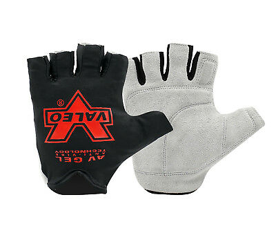 Gym Fingerless Gloves Weight Lifting Fitness Training Workout Exercise CLEARANCE