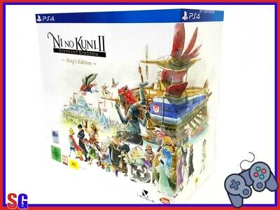 "Ni No Kuni 2 ""Ii"" Il Destino Di Un Regno King's Edition Playstation 4 Ps4 Nuovo!"
