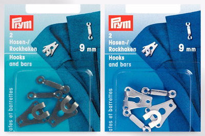 Prym Curtain Hooks Runners with Pleat White 526300 per pack of 20