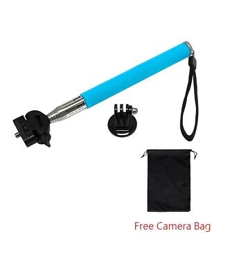 For GoPro Hero BLUE Extendable 42in Handheld Monopod+Mount Adapter+Camera bag