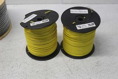 Lot of 2 Karis Tech #12 Solid 500 ft 30V Tracer Wire PE-30