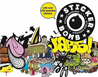 Stickerbomb by Studio Rarekwai Paperback Book The Fast Free Shipping