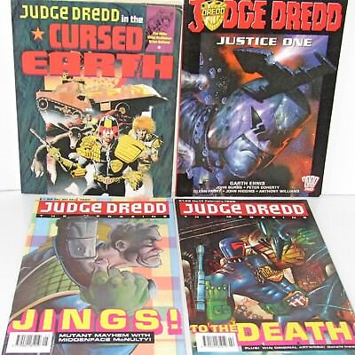 Judge Dredd 2000AD Justice One  Cursed Earth  Graphic Novels & Megazine