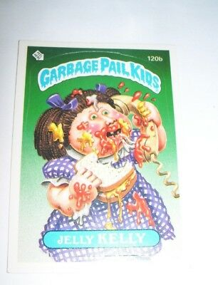 1986 Topps Garbage Pail Kids Trading Card Jelly Kelly