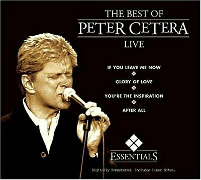 The Best of Peter Cetera: Live CD