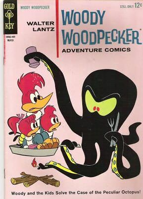 WOODY WOODPECKER #79 G/VG, Stamped F/C, Gold Key Comics 1964
