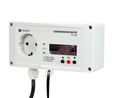H-tronic TS125 - Die Temperature Your Kühlhauses Check, Surveillance, Fix