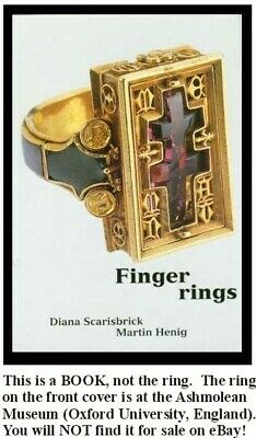 Ancient Finger Rings Ashmolean Egyptian Roman Greek Celt Hittite Minoan Medieval