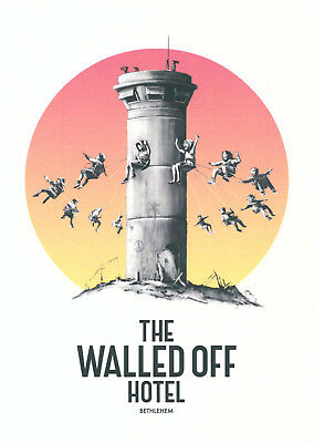 Banksy (et al.) - Walled Off Hotel Postcards Set - 13 Offsetlithographien