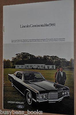 1969 Lincoln advertisement, Lincoln Continental, 2-door model