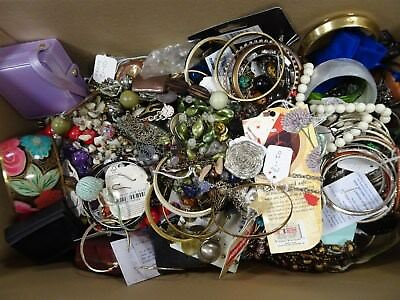 Job Lot Of Assorted Costume Jewellery 5.4KG