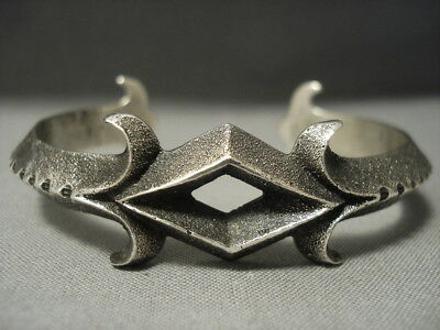 Amazing Aaron Anderson Sterling Silver Bracelet