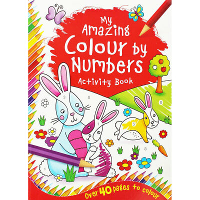 My Amazing Colour By Numbers by iGloo Books (Paperback), Children's Books, New