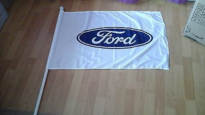V8 Supercars Hardly Used FORD Racing Flag As New Does Not Come with the Pole