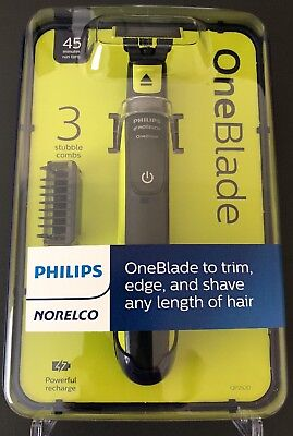 Philips Norelco OneBlade electric trimmer and shaver, QP2520/70 one blade